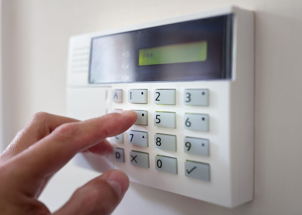 Security-alarm-keypad