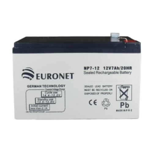 باطری ۱۲ولت ۷ آمپر euronet 2