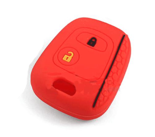 Silicon-remote-cover-Samand-rana-red